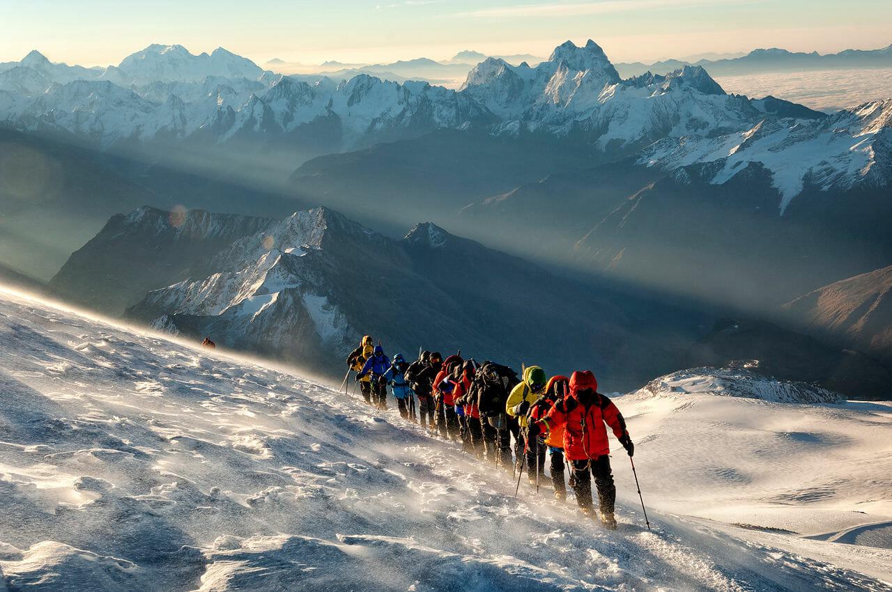 Elbrus-summit-ascent
